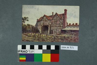 Postcard: Langley Hall