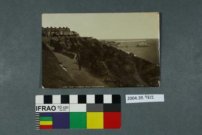 Postcard: View from Madeira Walk, Folkestone