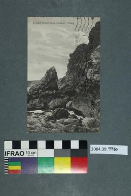 Postcard: Lizard Head from Cancker Drang