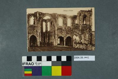 Postcard: Abbaye d'Aulne