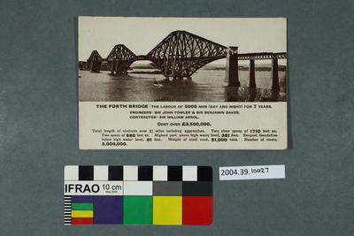 Postcard: The Forth Bridge