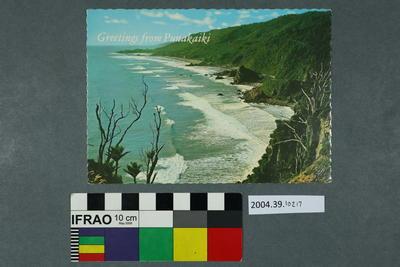 Postcard: Greetings from Punakaiki