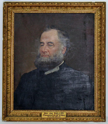 Painting: Rev Dr James Buller