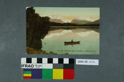 Postcard: Diamond Lake