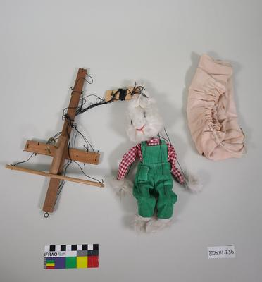 Prop: White rabbit; ; 2005.111.236