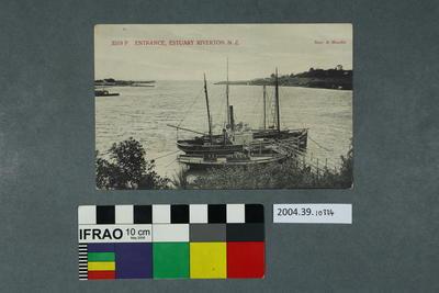 Postcard: Entrance, Estuary Riverton