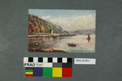 Postcard: Oban, Dog Stone and Oban Bay