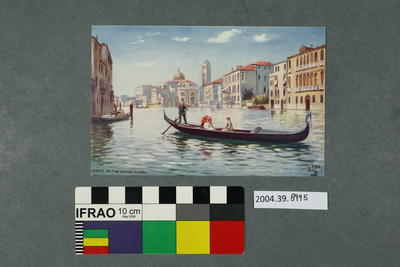 Postcard: Venice, On The Grand Canal