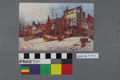 Postcard: An old-world nook