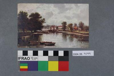 Postcard: Twickenham on Thames