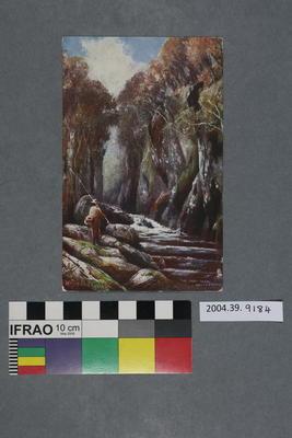 Postcard: The Fairy Glen