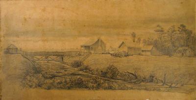 Drawing: Riccarton November 1850