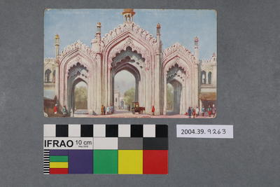 Postcard: Lucknow
