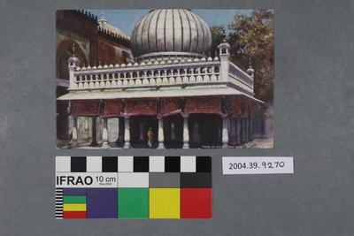 Postcard: Tomb of Nizam-ood-din, Delhi