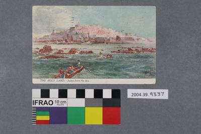 Postcard: The Holy Land