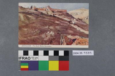 Postcard: Jerusalem