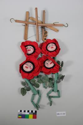 Prop: Dancing poppies