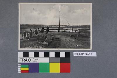 Postcard: Landing Point, Keyhaven