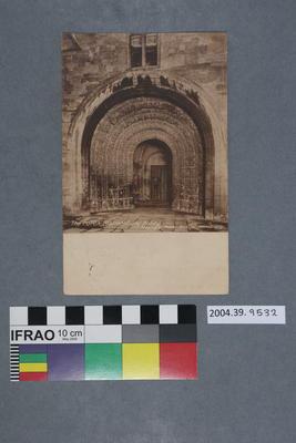 Postcard: The Porch, Malmesbury Abbey