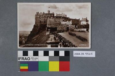 Postcard: Edinburgh Castle