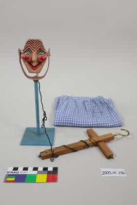 Marionette: Wooden Microphone with Face
