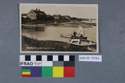 Postcard: Tidal Creek, Burnham Ovry