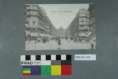 Postcard: Paris, Avenue de l'Opéra