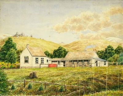 Painting: Trelissick Homestead