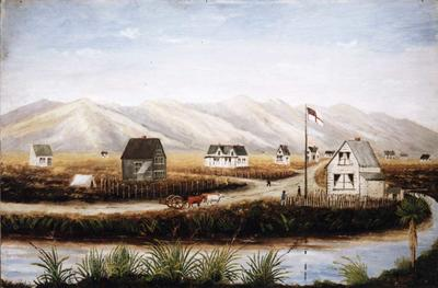 Painting: Christchurch, Canterbury , NZ