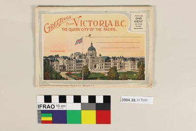 Lettercard: Greetings from Victoria BC