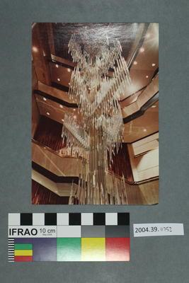 Postcard: Chandelier sculpture