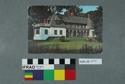 Postcard: House