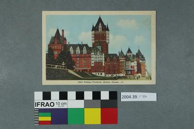 Postcard: Hotel Chateau Frontenac, Québec, Canada