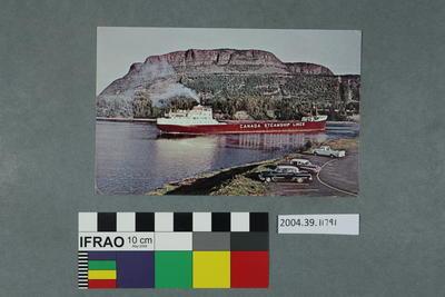 Postcard: Canada Steamship Lines