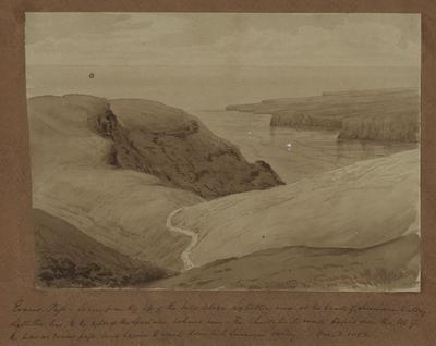 Painting: Evans Pass from Head of Sumner Valley