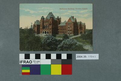 Postcard: Parliament Buildings, Toronto, BC