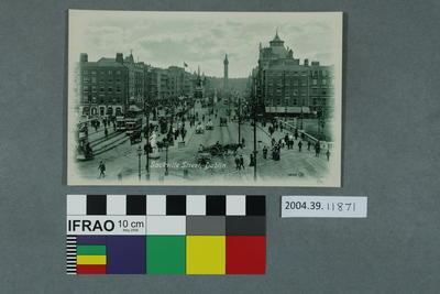 Postcard: Sackville Street, Dublin