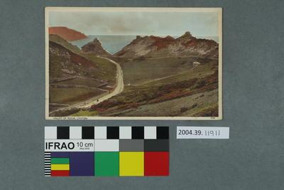 Postcard: Valley of Rocks, Lynton
