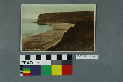 Postcard: Culver Cliff and Bay