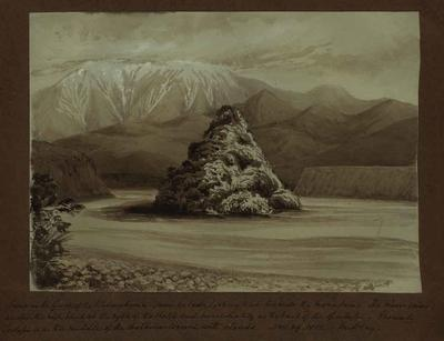Painting: Scene in the Gorge of the Waimakariri