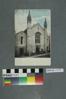 Postcard: Christ Church, Plymouth