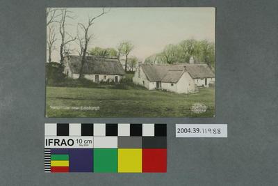 Postcard: Swanston near Edinburgh