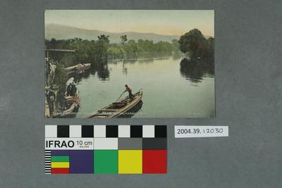 Postcard: Early Morning, Wanganui River at Taumaranui, New Zealand