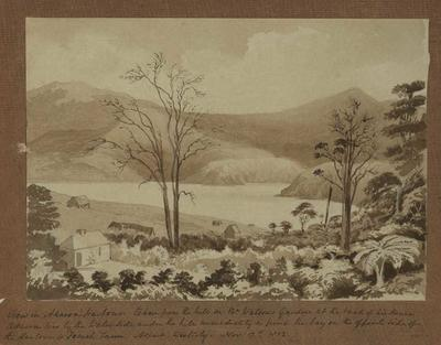 Painting: View in Akaroa, Aspect W