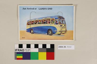 Postcard: Just arrived at Land's End