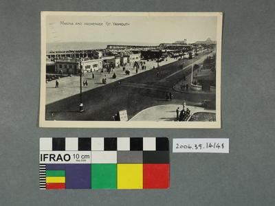 Postcard: Marina and Promenade
