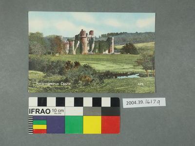 Postcard: Herstmonceux Castle