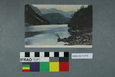 Postcard: Wet Jacket Arm