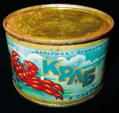 Tin: Crab Meat