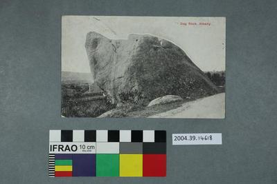 Postcard: Dog Rock